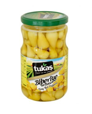 Tukas Pickled Small Hot Pepper